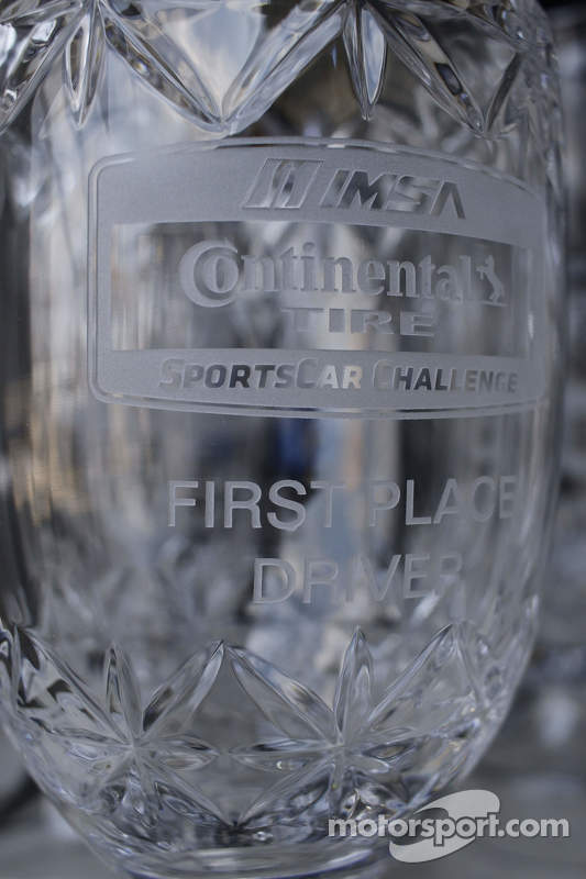 Continental Tire Sportscar Challenge, Pokale