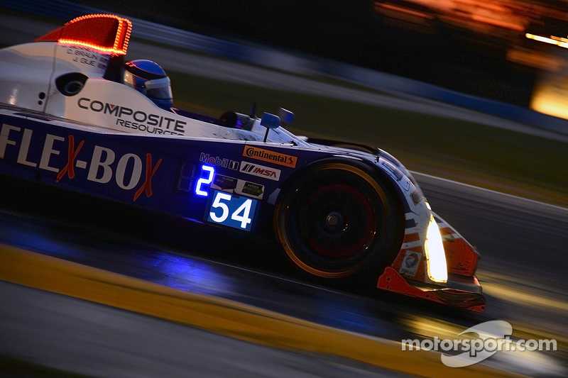 #54 CORE autosport Oreca FLM09: Джон Беннетт, Колін Браун, James Gue