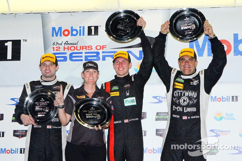 PC-Klassen-Podium: 1. Mike Guasch, Andrew Palmer, Tom Kimber-Smith, PR1 Mathiasen Motorsports