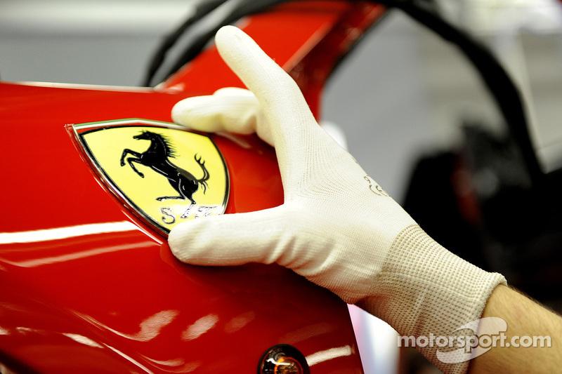 Das springende Pferd in der Ferrari-Produktionskette