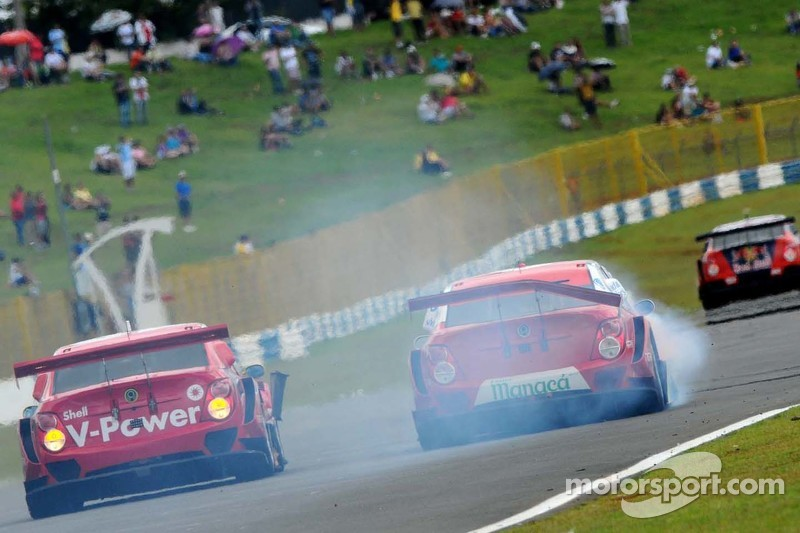 #8 RZ Motorsport Chevrolet: Rafael Suzuki, Antonio Perez e #10 Shell Racing Chevrolet: Ricardo Zonta