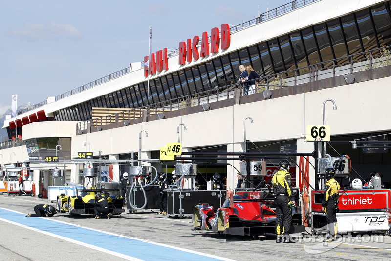 Pitlane at Paul Ricard