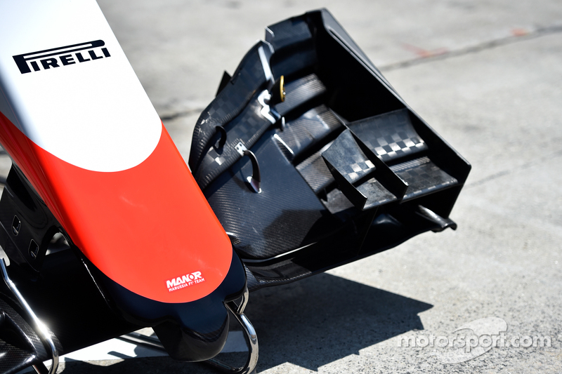 Manor Marussia F1 Team, Frontpartie