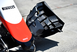 Manor Marussia F1 Team car nosecone