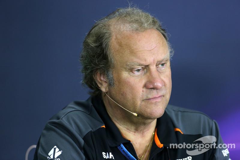 Robert Fernley, Sahara Force India F1 Team, stellvertretender Teamchef