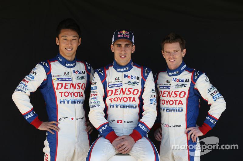 Kazuki Nakajima, Sebastien Buemi, Anthony Davidson, Toyota Racing