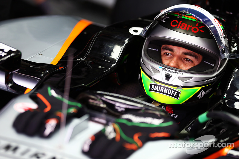 Серхио Перес Sahara Force India F1 VJM08