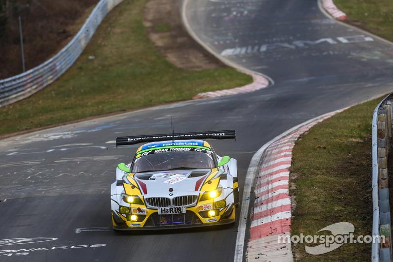 #26 BMW Sports Trophy Team Marc VDS BMW Z4 GT3: Jörg Müller, Augusto Farfus, Dirk Adorf