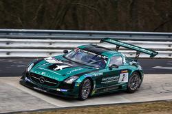 #2 Black Falcon Mercedes-Benz SLS AMG GT3: Yelmer Buurman, Adam Christodoulou, Jaap van Lagen