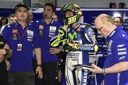 Valentino Rossi, Yamaha Factory Racing, mit Kumpel Alessio