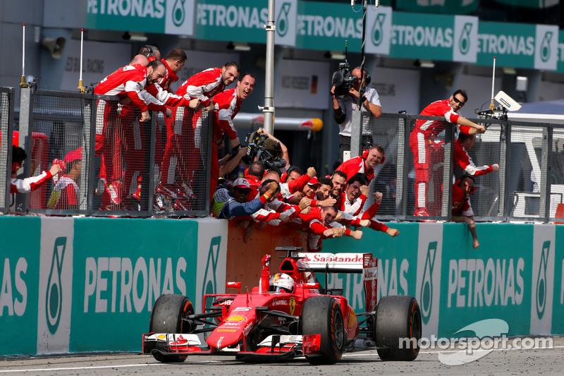 2015. Себастьян Феттел, Ferrari