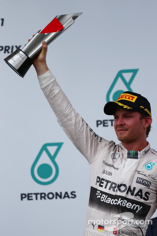 Tercer Lugar Nico Rosberg, Mercedes AMG F1 W06