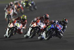 Jorge Lorenzo, Yamaha Factory Racing y Andrea Dovizioso y Andrea Iannone, Ducati Team