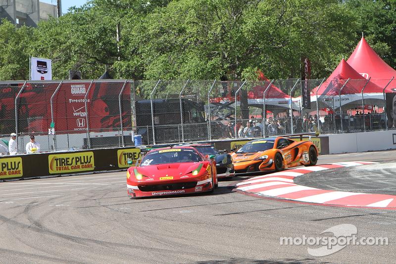 #64 Scuderia Corsa, Ferrari 458 GT3 Italia: Duncan Ende