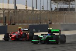 Norman Nato, Arden International, und Richie Stanaway, Status Grand Prix