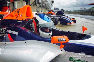 Testfahrten Französische Formel 4, April