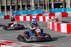 Картинговое соревнование пилотов Formula E и VIP гостей
