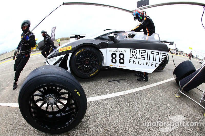 #88 Reiter Engineering,兰博基尼 Gallardo LP560-4 R-EX: Albert von Thurn und Taxis, Nicky Catsburg