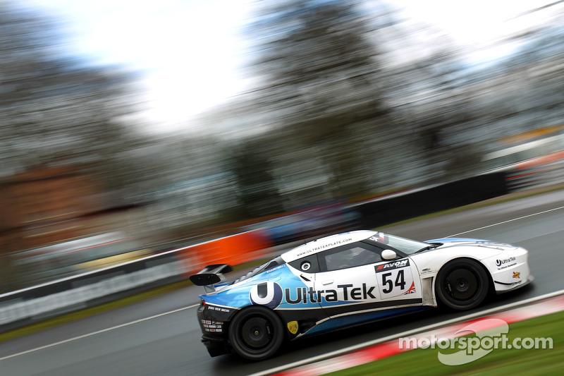 #54 Ultra Tek Racing,路特斯Evora GT4: Tim Eakin, Jamie Wall