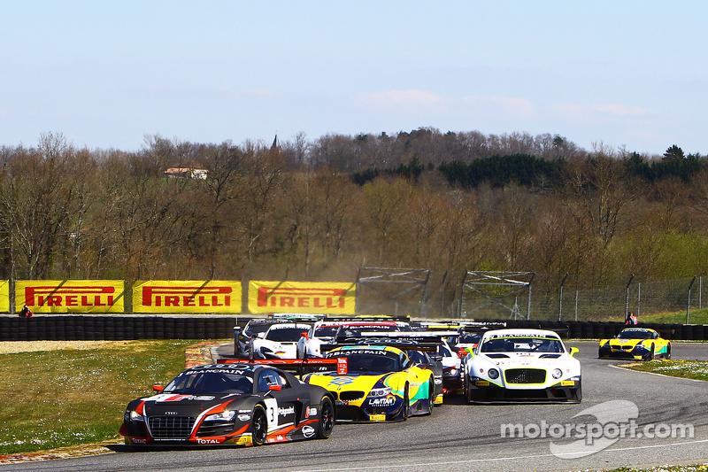 #3 Belgian Audi Club Team WRT, Audi R8 LMS ultra: Stéphane Richelmi, Stéphane Ortelli