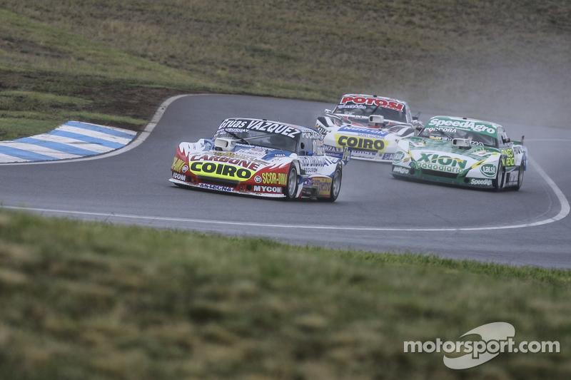 Lionel Ugalde, Ugalde Competicion, Ford; Emiliano Spataro, UR Racing, Dodge, und Martin Serrano, Coiro Dole Racing, Dodge