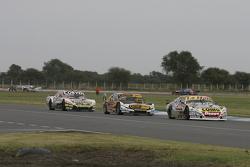 Sergio Alaux, Coiro Dole Racing, Chevrolet; Leonel Pernia, Las Toscas Racing, Chevrolet, und Juan Marcos Angelini, UR Racing, Dodge