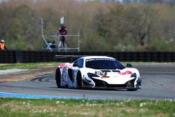 #54 Attempto Racing, McLaren 650 S GT3: Philipp Wlazik, Yoshiharu Mori