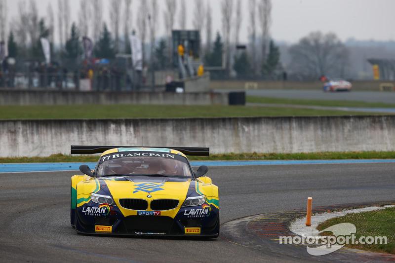 #77 宝马运动奖杯车队,巴西,宝马Z4: Maxime Martin, Dirk Muller
