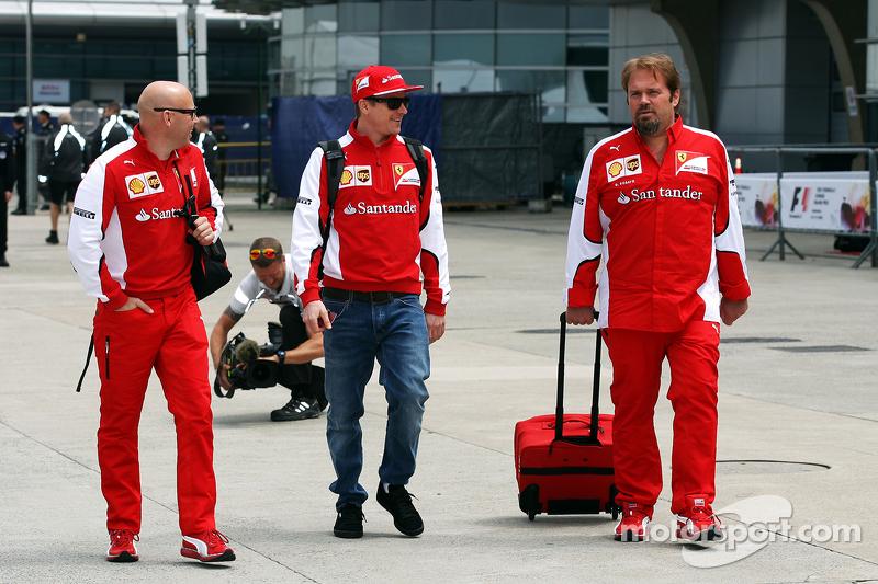 Марк Арнол, Особистий тренер з Кімі Райкконен, Ferrari та Джіно Росато, Ferrari