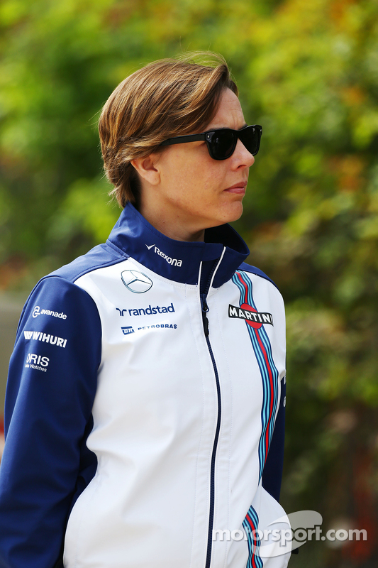 Claire Williams, Teamchef-Stellvertreterin, Williams
