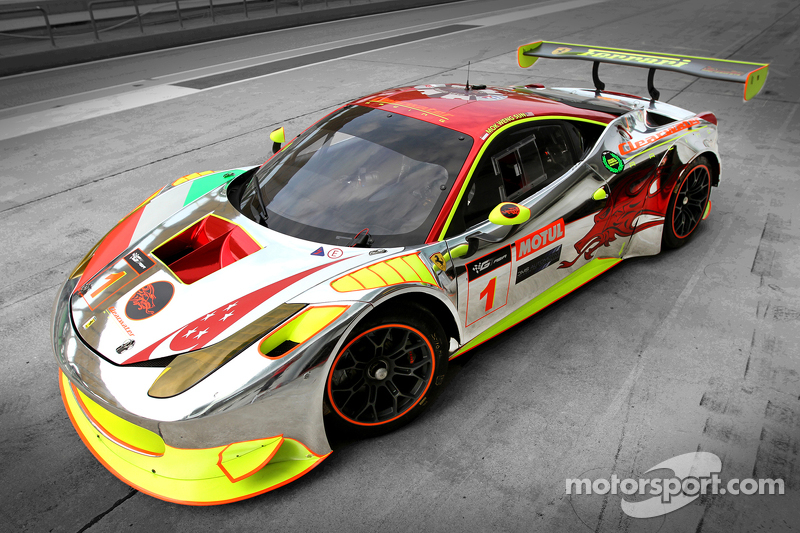 Livery Clearwater Racing Ferrari