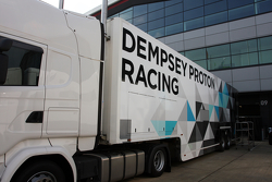 Le camion du Dempsey Proton Racing