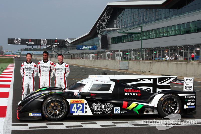 #42 Strakka Racing Dome Strakka S103 - Nissan: Nick Leventis, Danny Watts, Jonny Kane