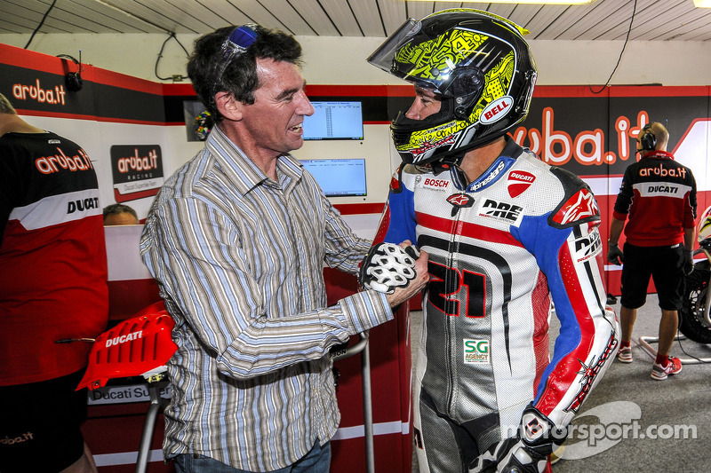 Troy Bayliss, Ducati Team y Troy Corser