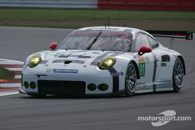 #91 保时捷车队Manthey 保时捷911 RSR: Richard Lietz, Michael Christensen