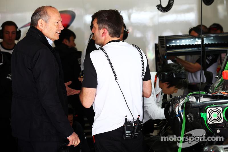 Ron Dennis, McLaren Presidente Ejecutivo
