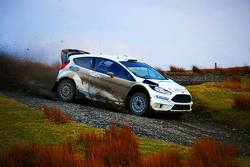 Ford Fiesta RS WRC на тестах
