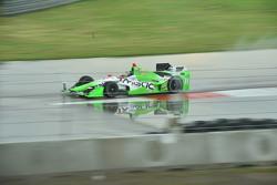 Stefano Coletti, KV Racing Technology Chevrolet, dan Gabby Chaves, Bryan Herta Autosport Honda