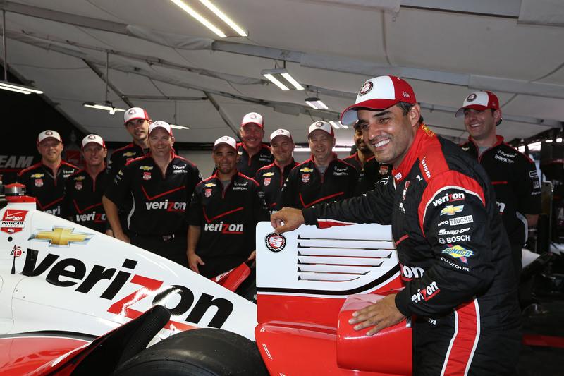 Pole-Sitter: Juan Pablo Montoya, Team Penske, Chevrolet