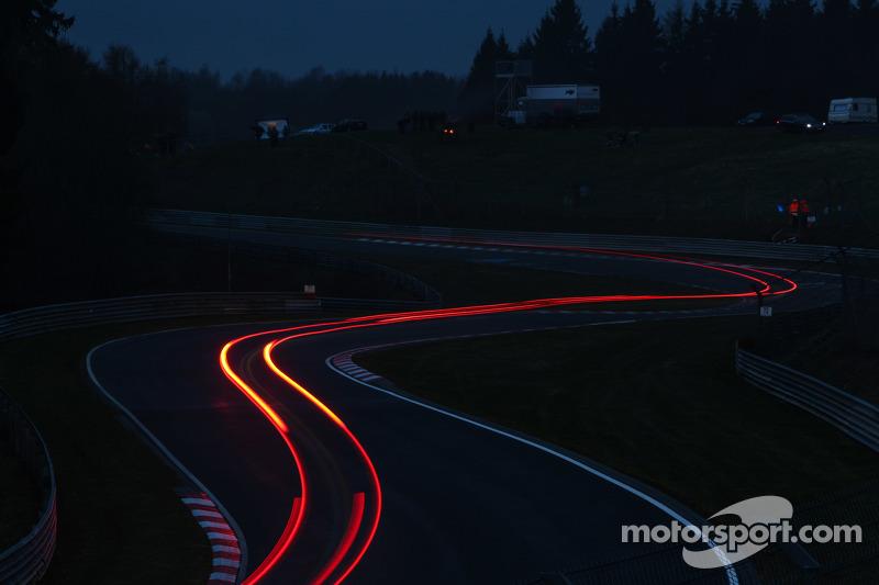 Streaking lights di Nürburgring
