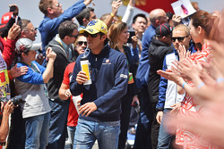 Felipe Nasr, Sauber F1 Team, bei der Fahrerparade