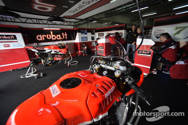 Ducati Team, Garage