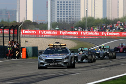 Safety car, Lewis Hamilton, Mercedes AMG F1 Team