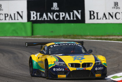 #1 BMW Sports Trophy Team Brasil, BMW Z4: Caca Bueno, Sergio Jimenez, Felipe Fraga