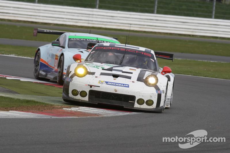 #91 Porsche Team, Manthey 911 RSR: Richard Lietz, Michael Christensen