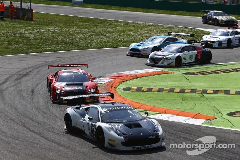 #17 Insight Racing Denmark, Ferrari 458 Italia: Dennis Andersen, Martin Jensen