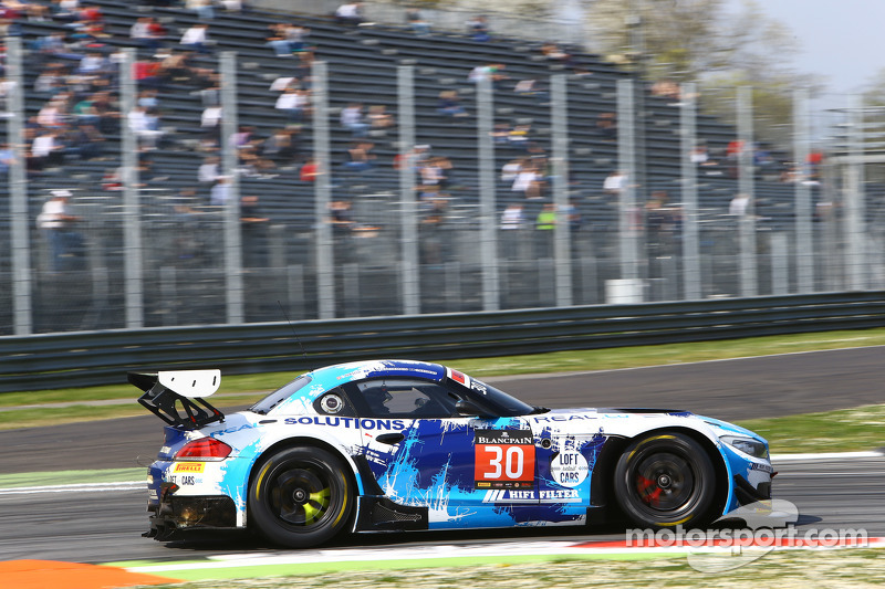 #30 Classic & Modern Racing BMW Z4: Christian Kelders, Jean-Luc Blanchemain, Pierre Hirschi