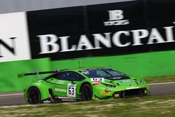 #63 GRT Grasser Racing Team,兰博基尼Huracan GT3: Giovanni Venturini, Adrian Zaugg, Mirko Bortolotti
