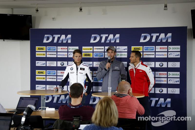 Марко Віттман, BMW Team RMG BMW M4 DTM, Крістіан Фіторіс, HWA AG Mercedes-AMG C63 DTM, Тімо Шайдер,