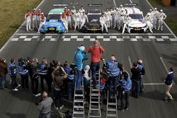 Alle Fahrer beim DTM-Medientag